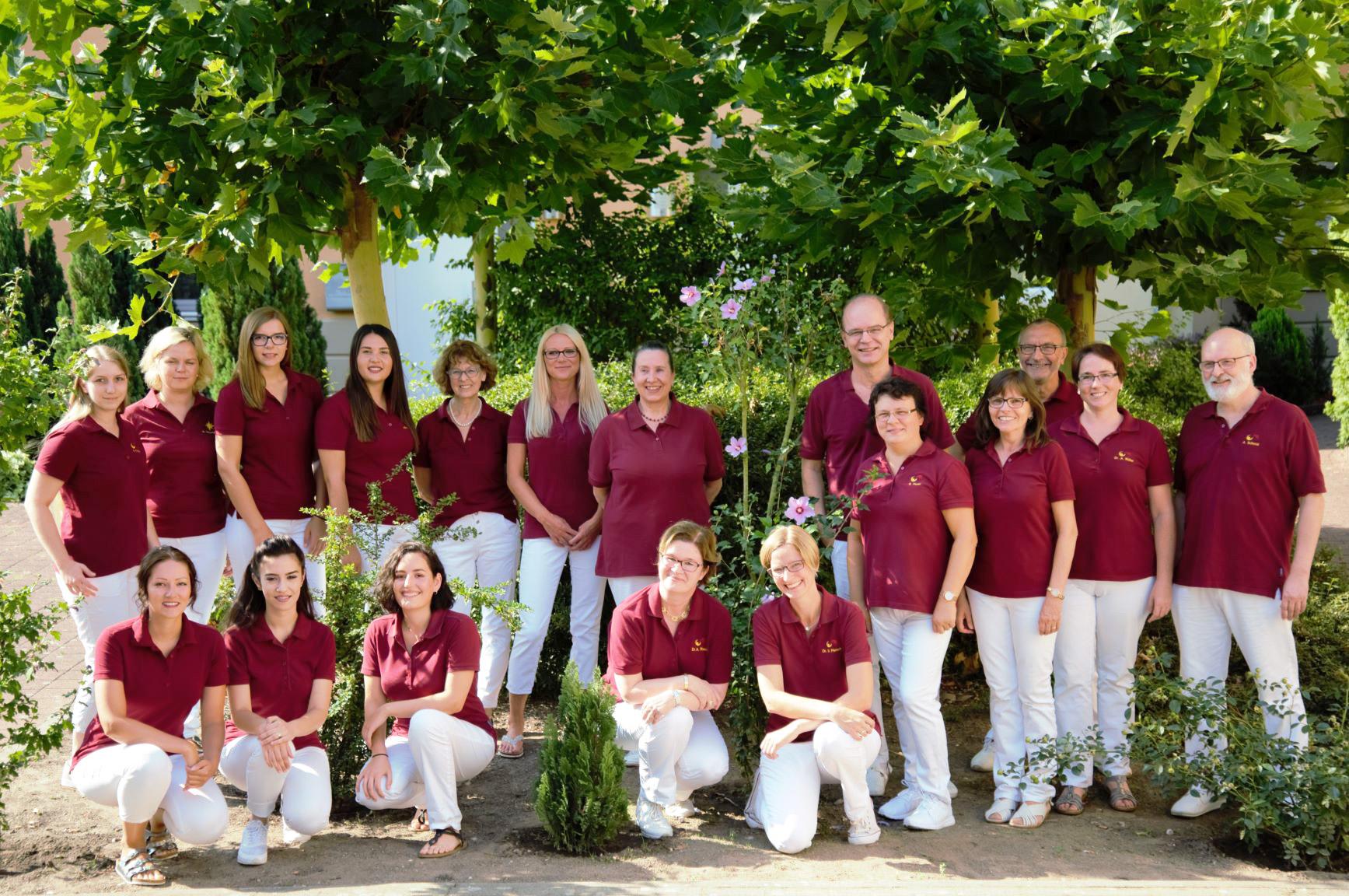 Das Team der Hausärztlichen Gemeinschaftspraxis Speyer-Nord